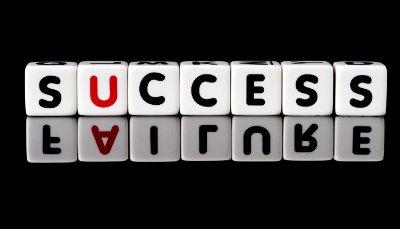 kudarc vs siker